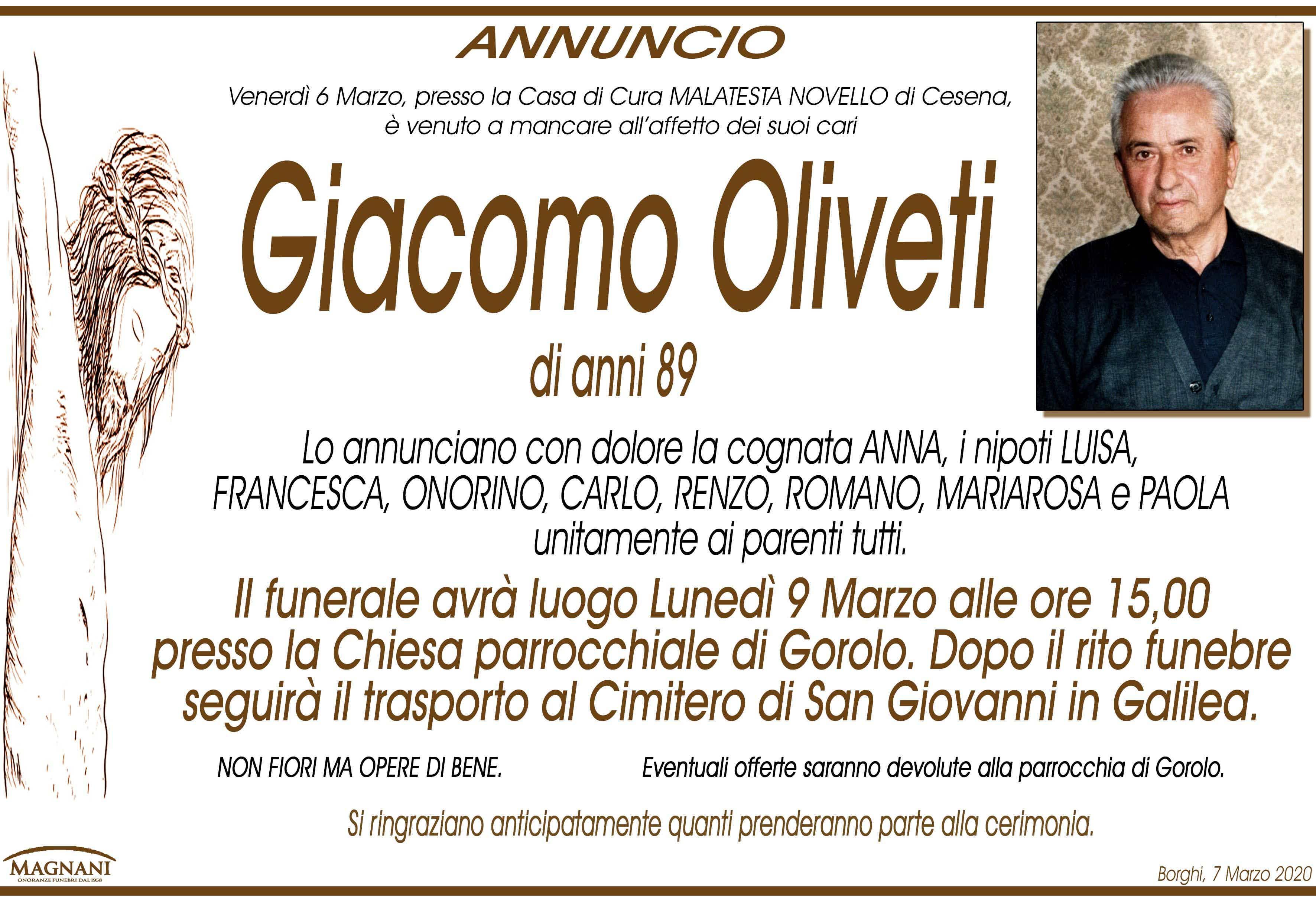 Giacomo Oliveti