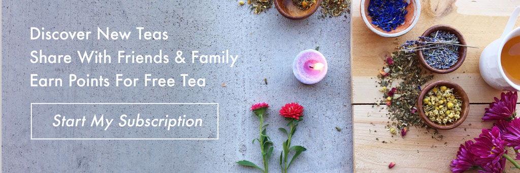 Loose Leaf Tea Subscription Box