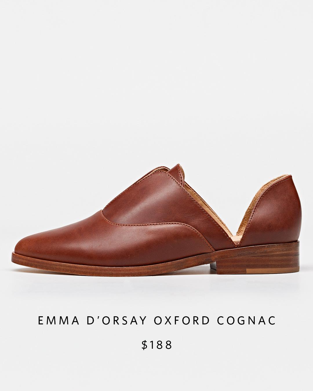 Emma d'Orsay Oxford   Nisolo