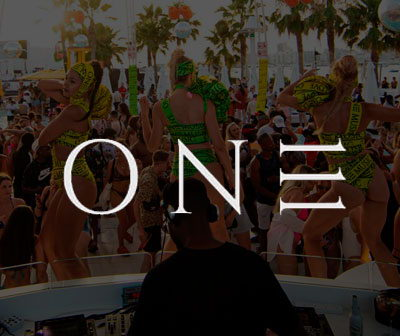 Ibiza Pool party one, O beach club Ibiza pool parties calendar
