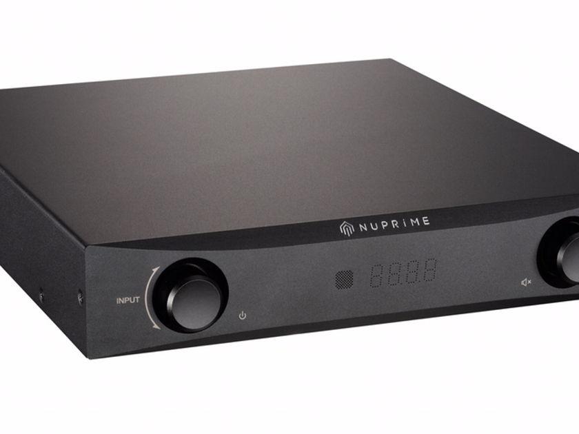 NuPrime  IDA-8 Integrated Amplifier / DAC, Black Finish