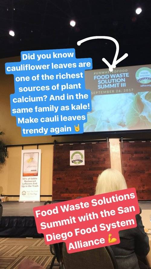 Food Waste Solutions Summit with San Diego Food System Alliance
