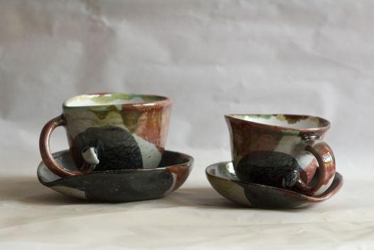 Чайный набор (чашка и блюдце) NAMI №2