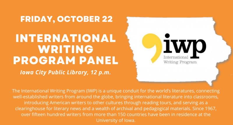 International Writing Program Panel