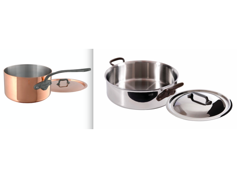Two Elegant Cookware Staples from Mauviel