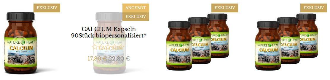 Beispiel Produkte am Beispiel CALCIUM