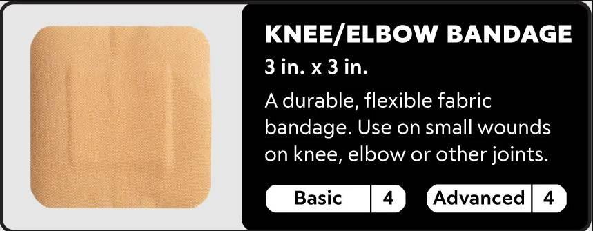 knee or elbow bandage