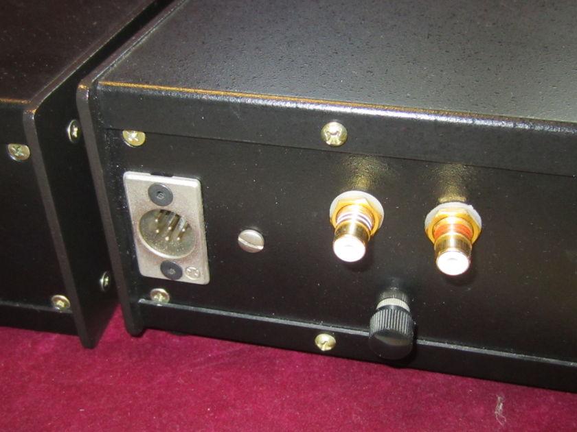 Arthur Loesch FET Phono Preamplifier Custom made by the late Dr. Loesch, battery powered