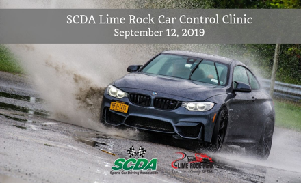 SCDA- Car Control Clinic- Lime Rock- Sept. 12th