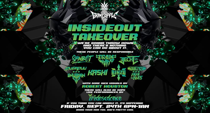Grimeapple Takeover of InsideOut