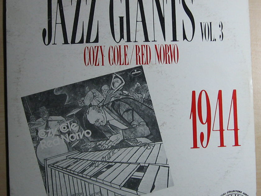 Cozy Cole / Red Norvo -  Jazz Giants 1944 Volume 3 - Trip Jazz TLP-5538