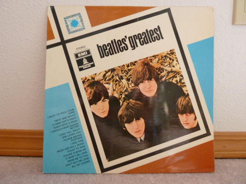 Beatles - Beatles Greatest  denmark pressing