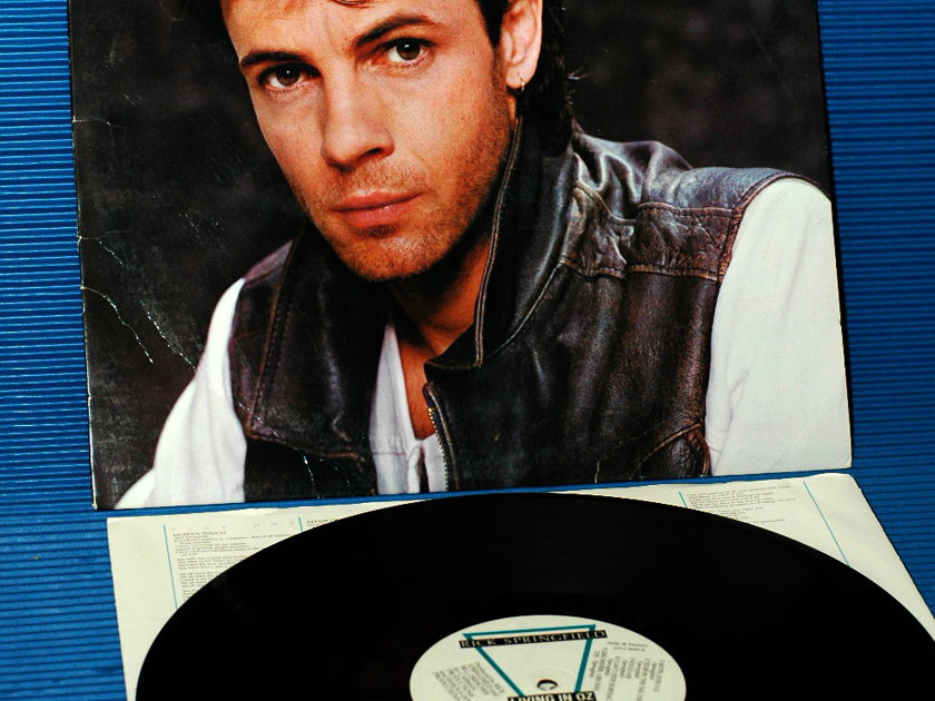 "RICK SPRINGFIELD - - ""Living In Oz"" -  RCA - 1983"
