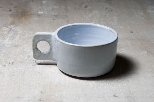 Гончарная чашка Геометрия