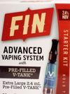 FIN Advanced Vaping Kit - Bold Tobacco
