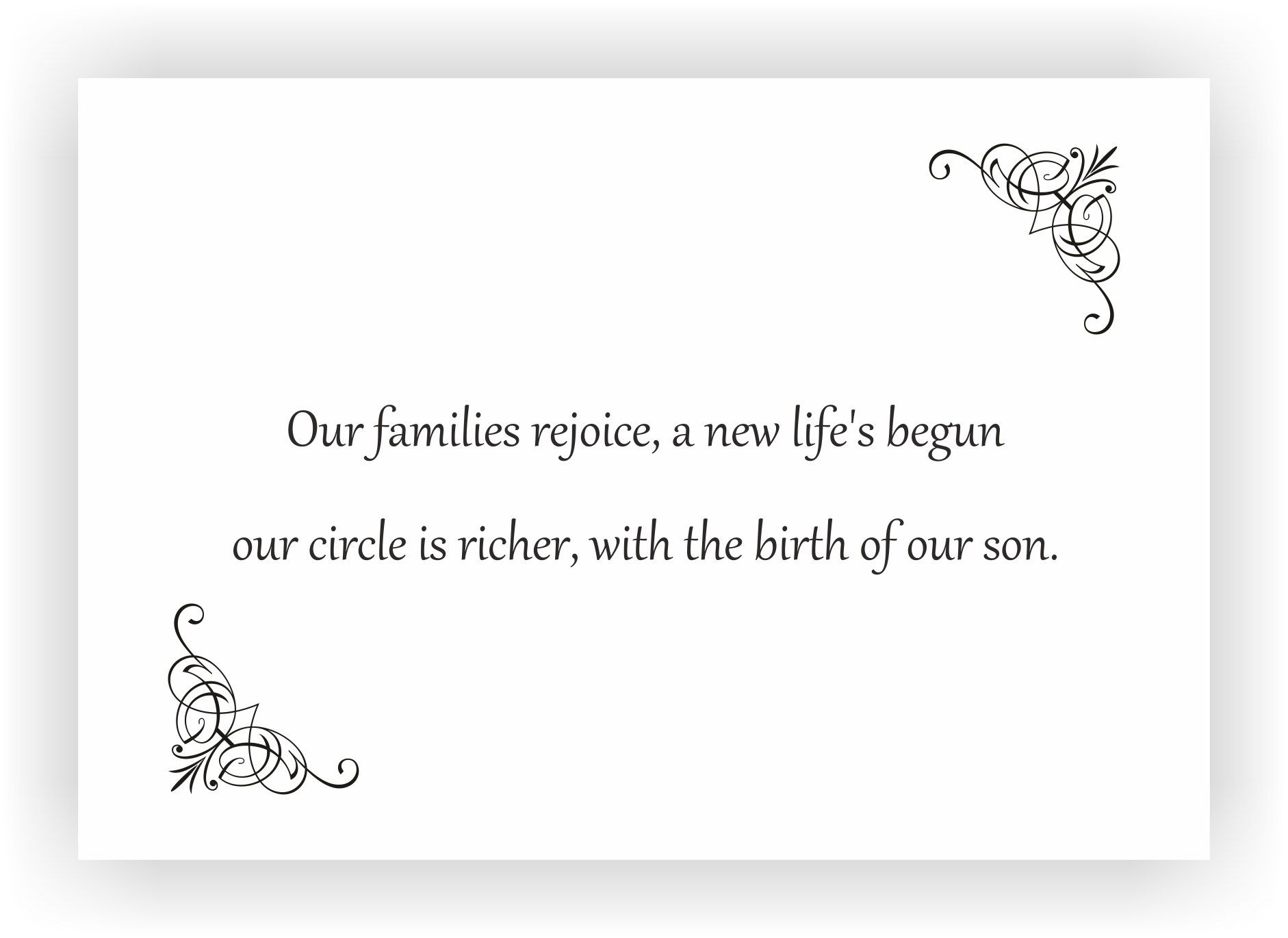 Newborn baby announcement message I Messages for the new born baby – Baby Announcements Quotes
