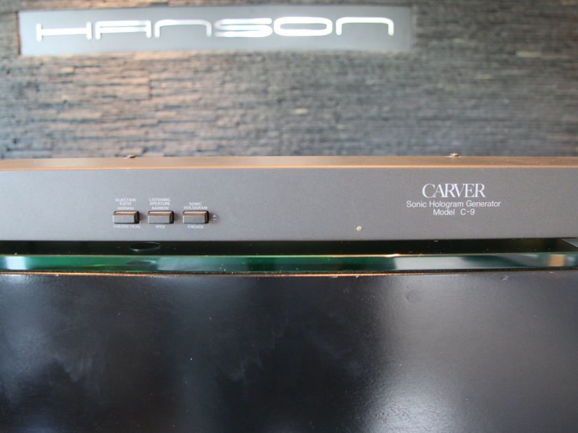 Carver C-9 Sonic Holography Generator