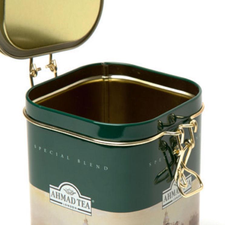 A clip lid tin