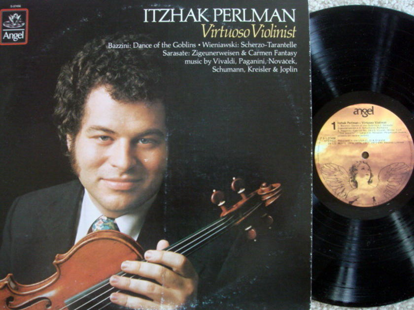 EMI Angel / PERLMAN, - Virtuoso Violinist,  MINT!