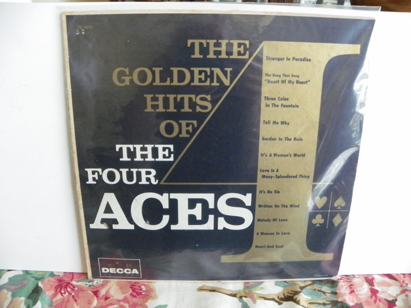 THE FOUR ACES - THE GOLDEN HITS Rare Mono