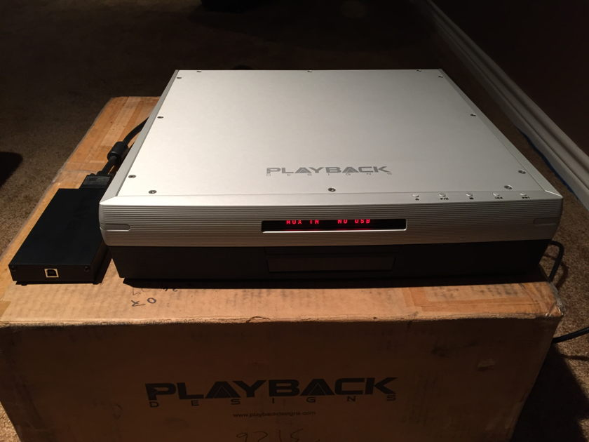 Playback Designs MPS-5  SACD/CD Player