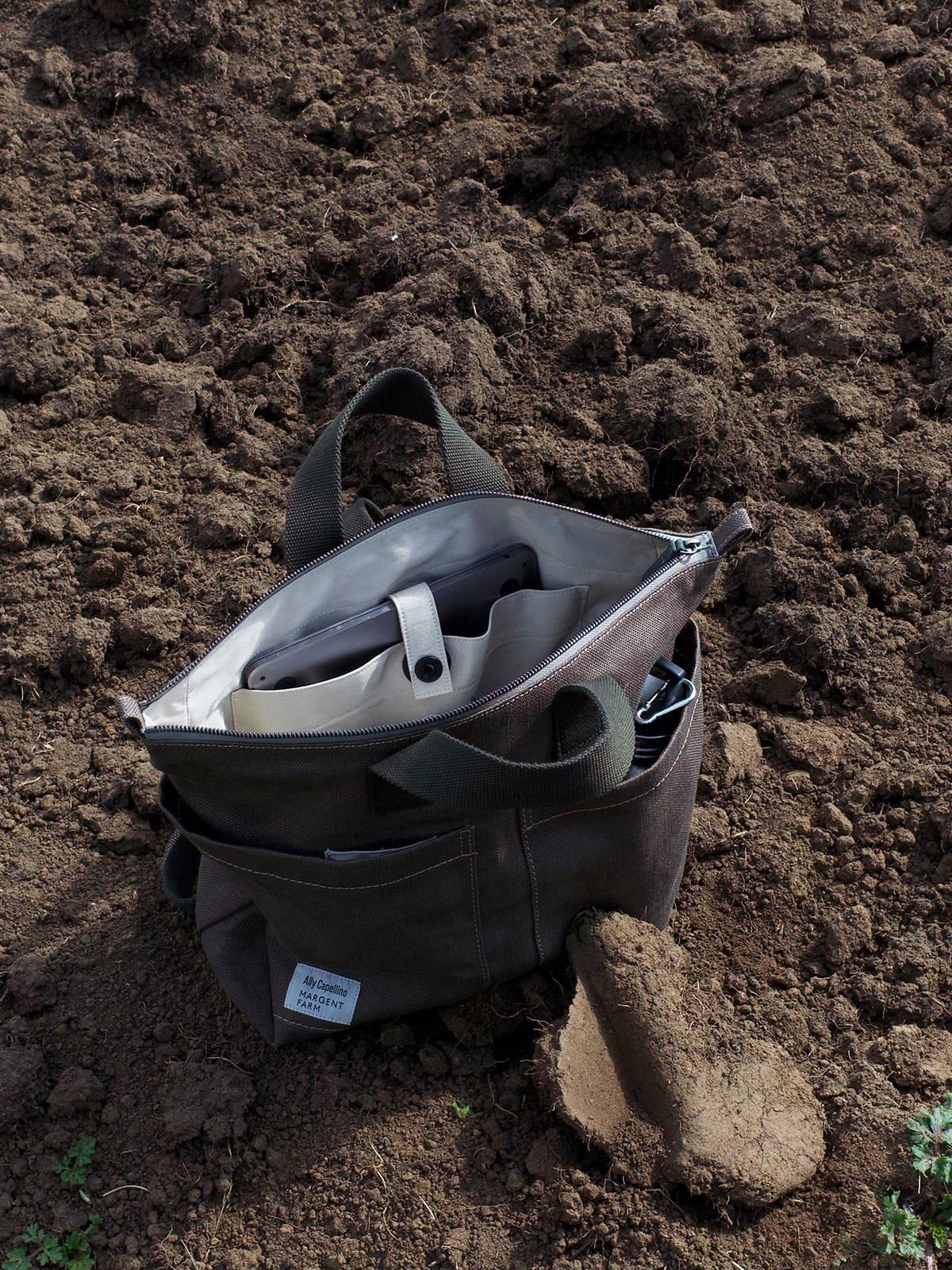 Ally Capellino X Margent Farm Hemp Backpack