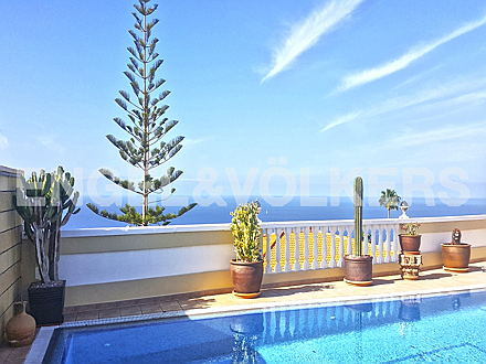 Costa Adeje - Property for sale in Tenerife: illa with sea views in the south west of Tenerife, Engel & Völkers Costa Adeje