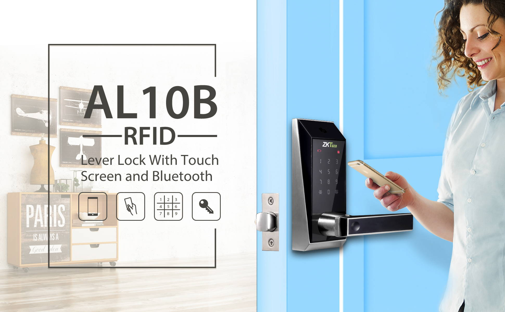 bluetooth smart lock banner