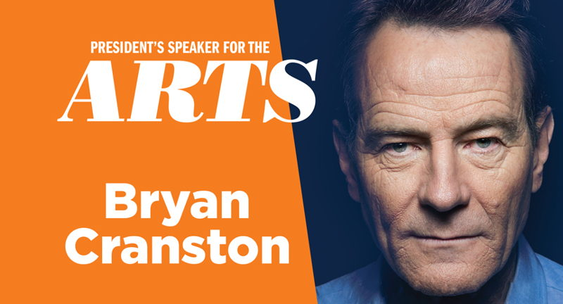 President's Speaker for the Arts at UVA: Bryan Cranston