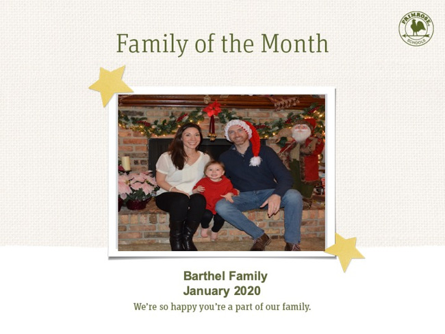 family of month
