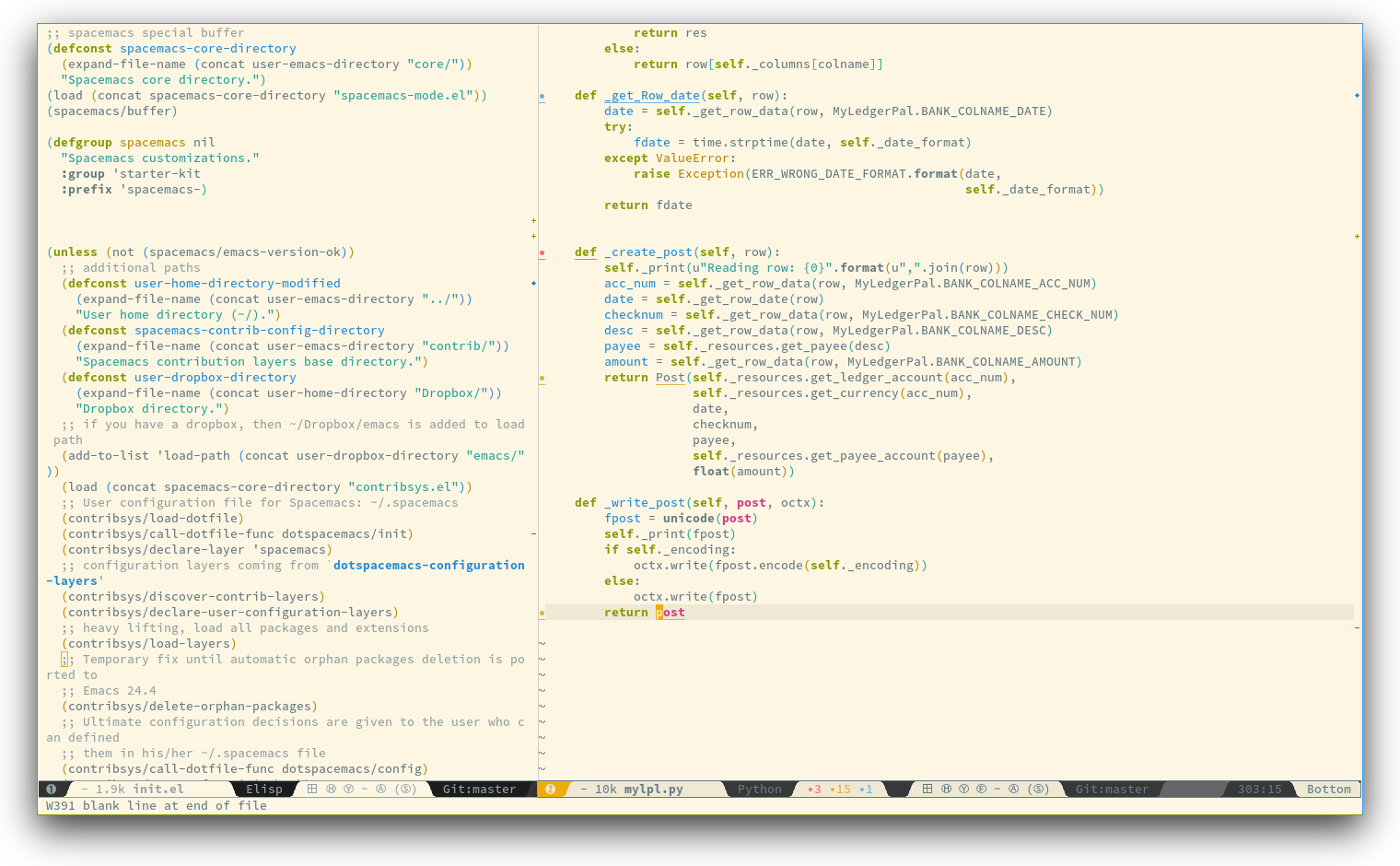 Spacemacs with Python layer Review - Slant