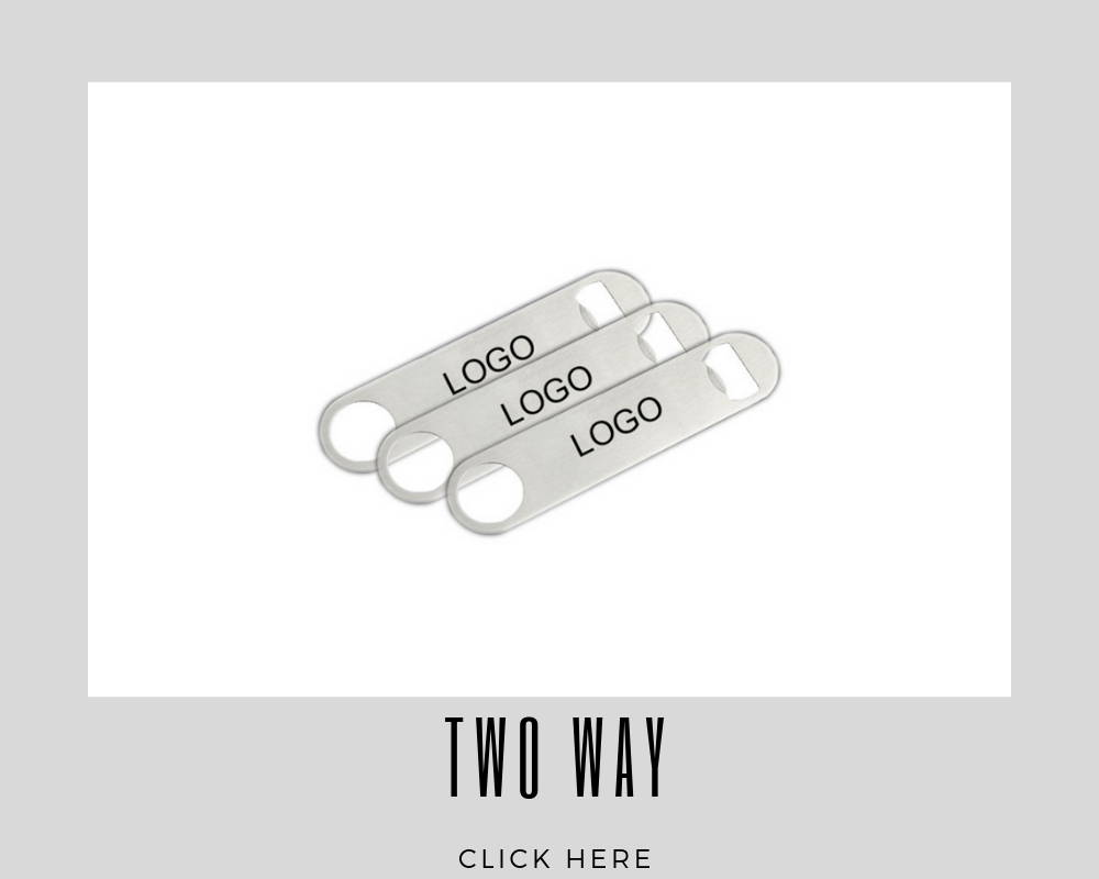 Corporate Two Way Custom Bottle Opener