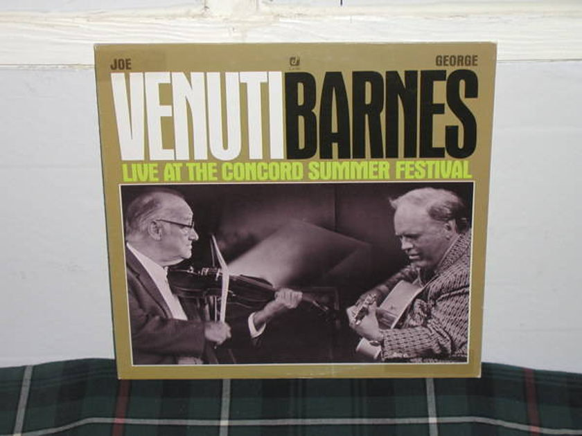 Venuti/Barnes - Live At The Concord Summer Festival