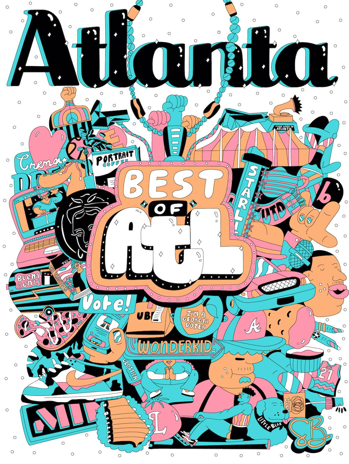 Atlanta Magazine Best of Atlanta 2020, Best Stationery, Adelina Social Goods
