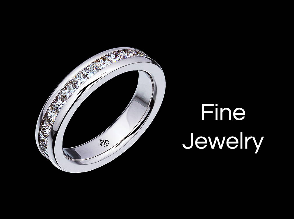 Yves Lemay Rhodium Plated Sterling Silver (925) collection