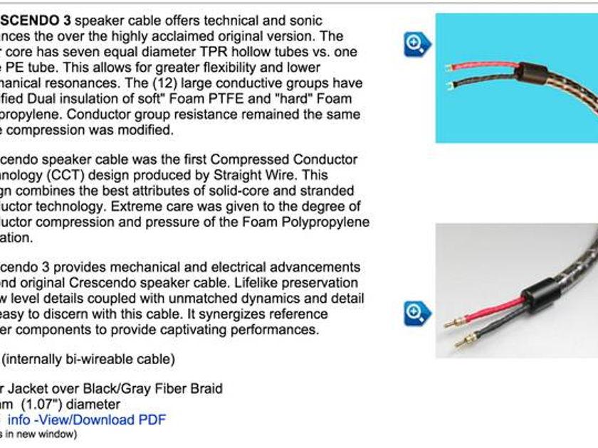 Straightwire Crescendo 3 speaker cable