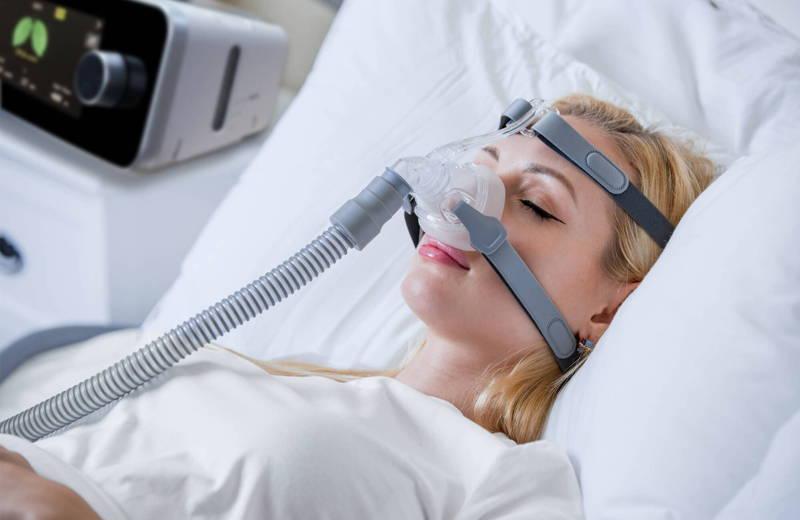 جهاز BPAP للمرضى الذين يعانون من CSA