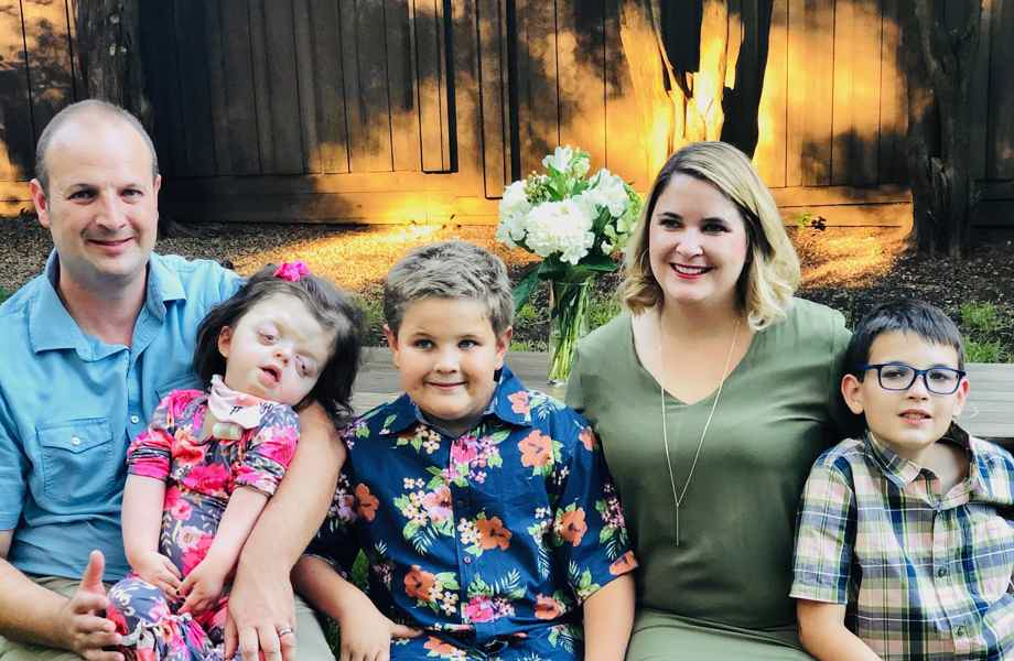 The Lund Family (Andrew, Hadley, Micah, Kristy, and Oliver)