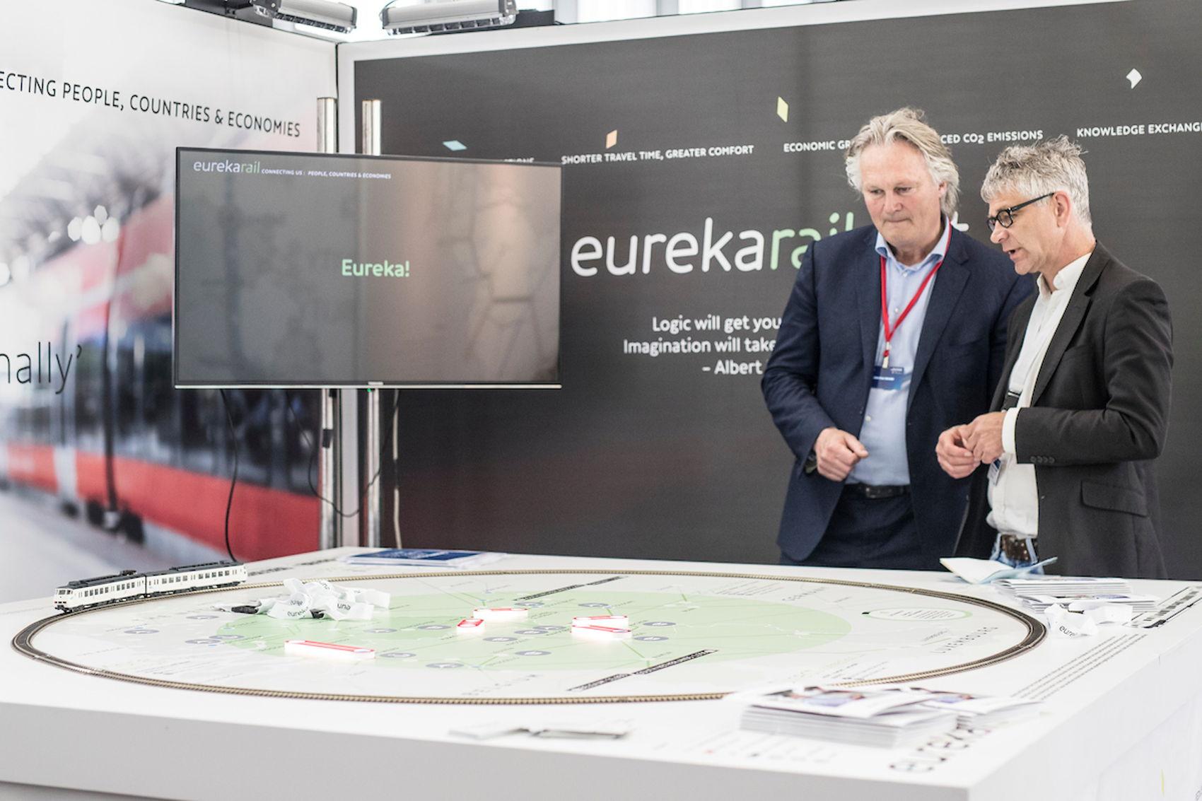 'De trein komt in het hart van de Europese stad'