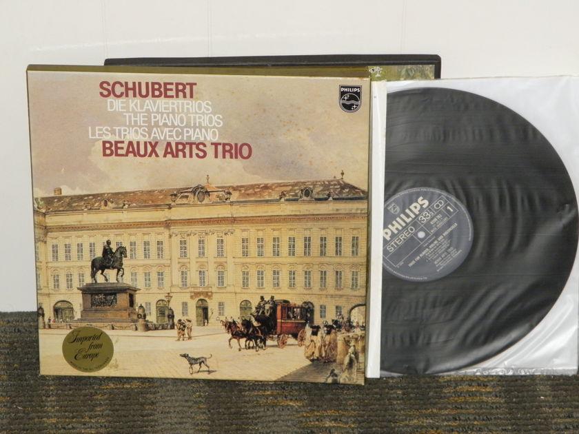 """Beaux Arts Trio - Schubert """"Samtliche Trios for Piano,Violin&Cello"""" Philips Import Pressing 6770 001 Holland 2LP boxset"""