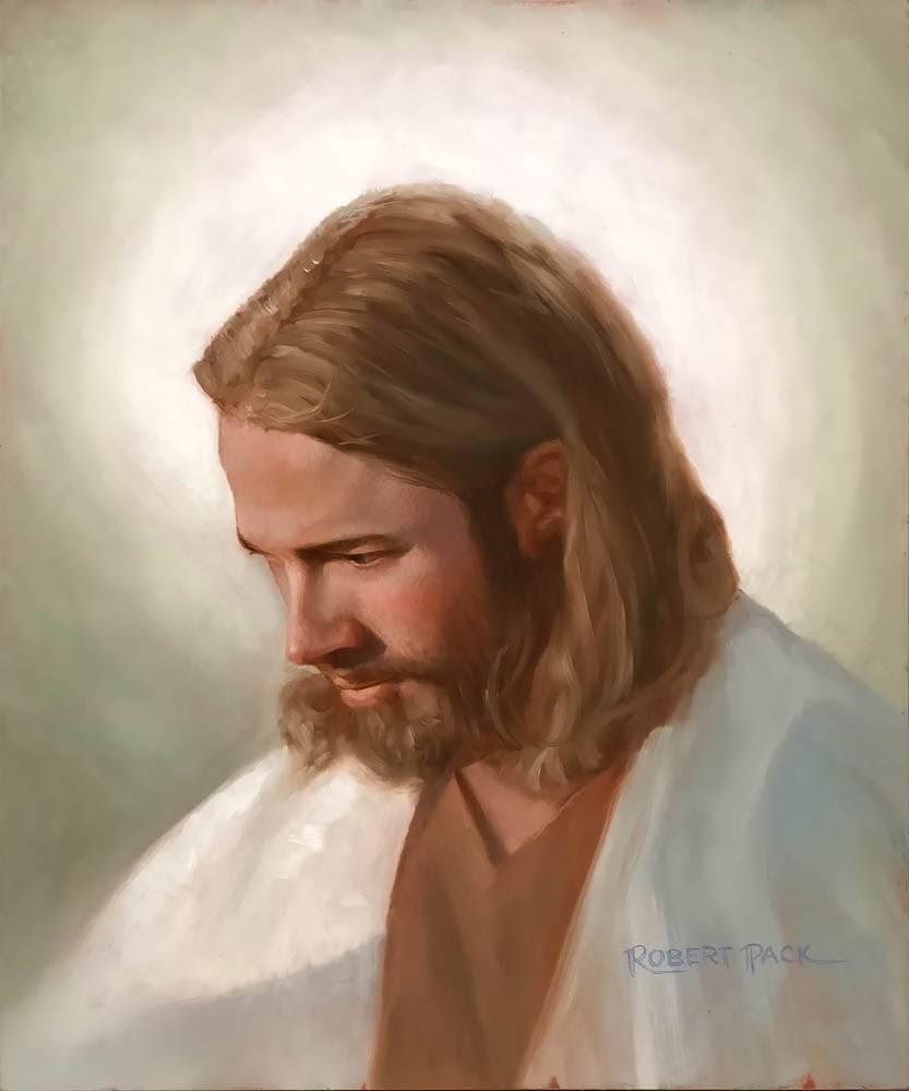 LDS art portrait of Jesus Christ.