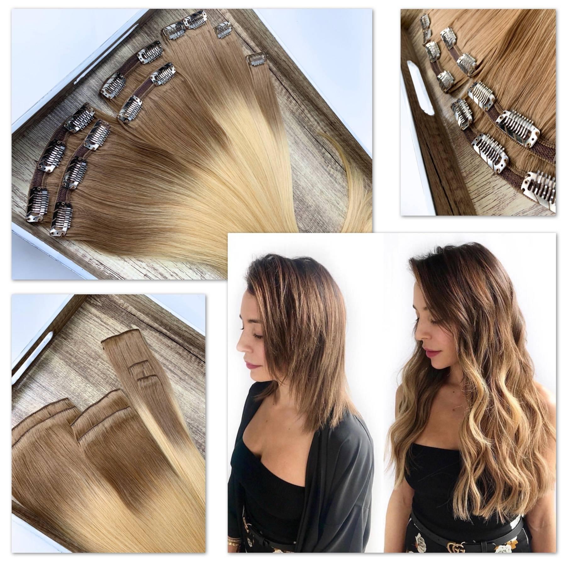 how to use clips gva hair