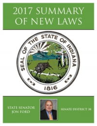 2017 Summary of New Laws - Sen. Ford