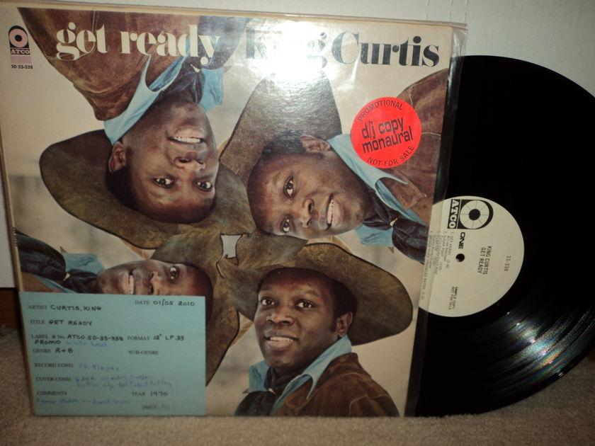 King Curtis  - Get Ready  D/J copy Mono white Atco Label promo Rare