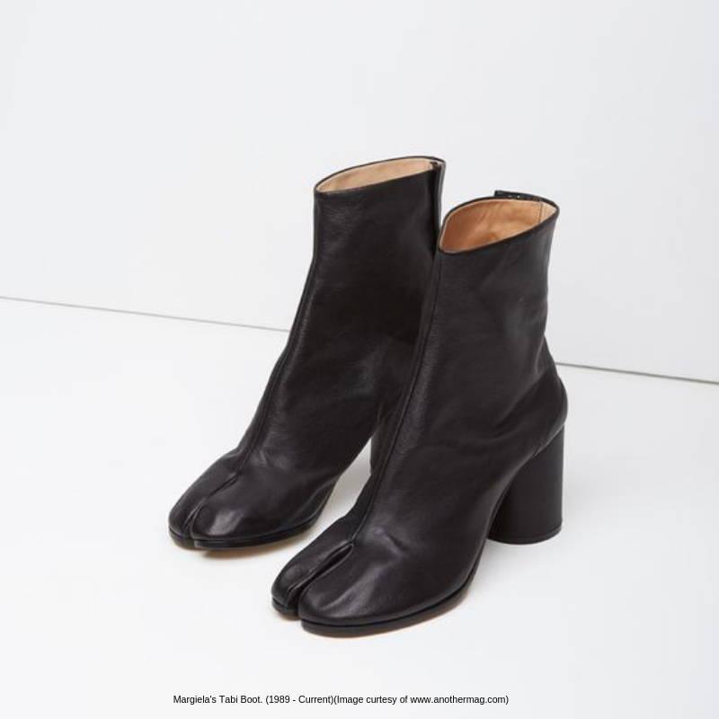 margiela tabi boots from 1989