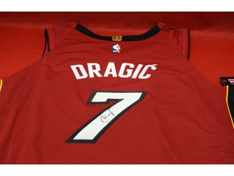 Goran Dragic Autographed Miami HEAT Jersey