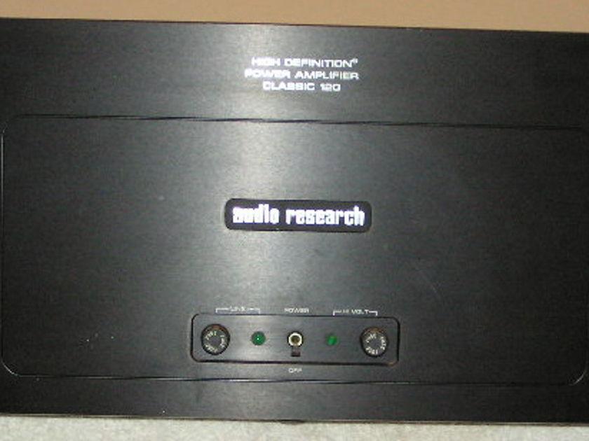 Audio Research Classic 120 Tube Monoblocks Black Pair-original