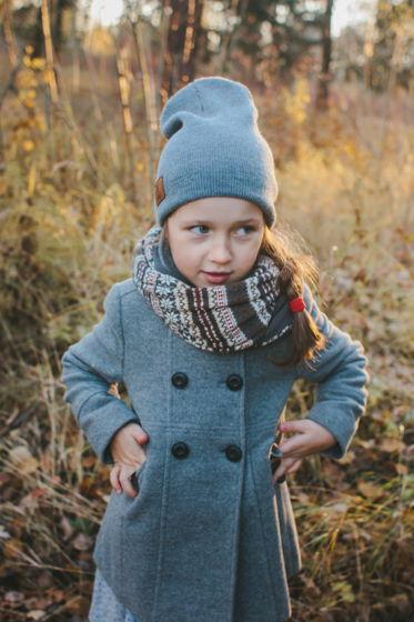 Детская теплая шапка. Цвета в ассортименте