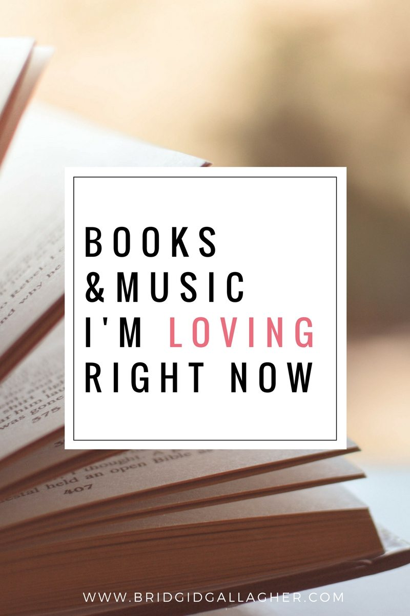 Lately I've been wanting to share new favorite reads & music, which has enticed me to break my blogging hiatus a little early. :) Read the post to see what I'm reading/listening to right now >>>