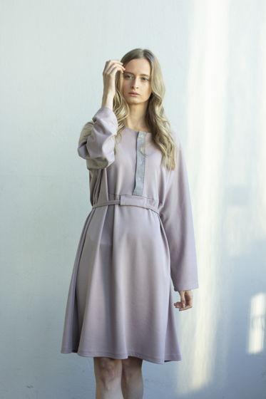Платье с планкой Pink